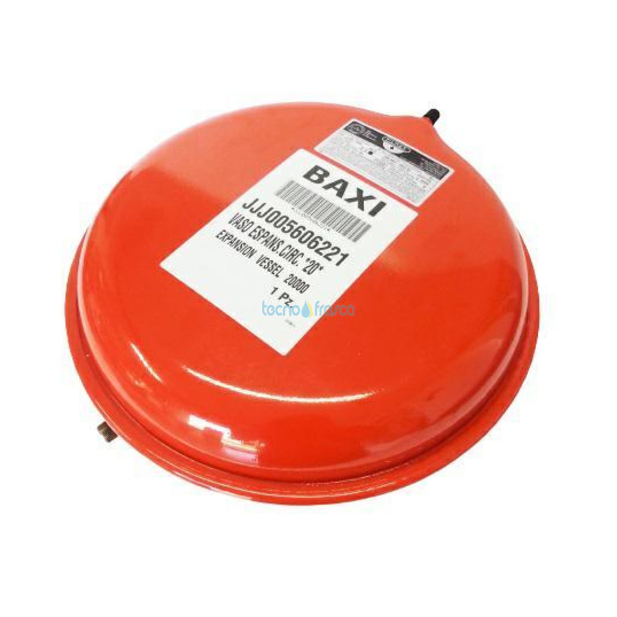 Baxi vaso di espansione lt 6 circolare jjj005606221