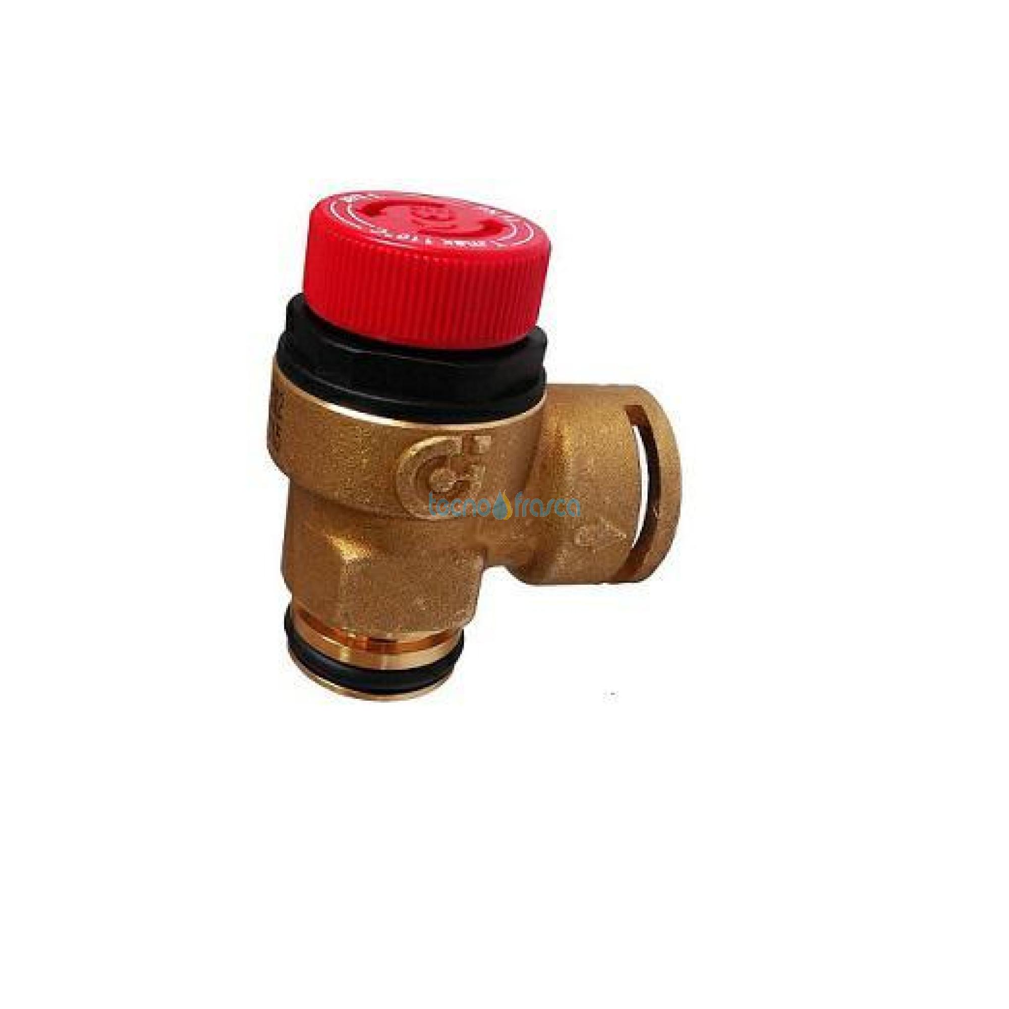 Immergas valvola di sicurezza 3bar per compact block 1.024903