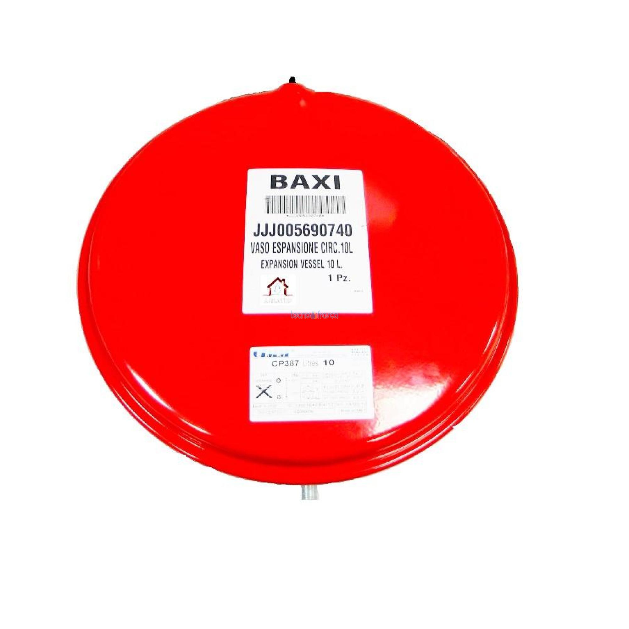 Baxi vaso di espansione lt 10 circolare jjj005690740