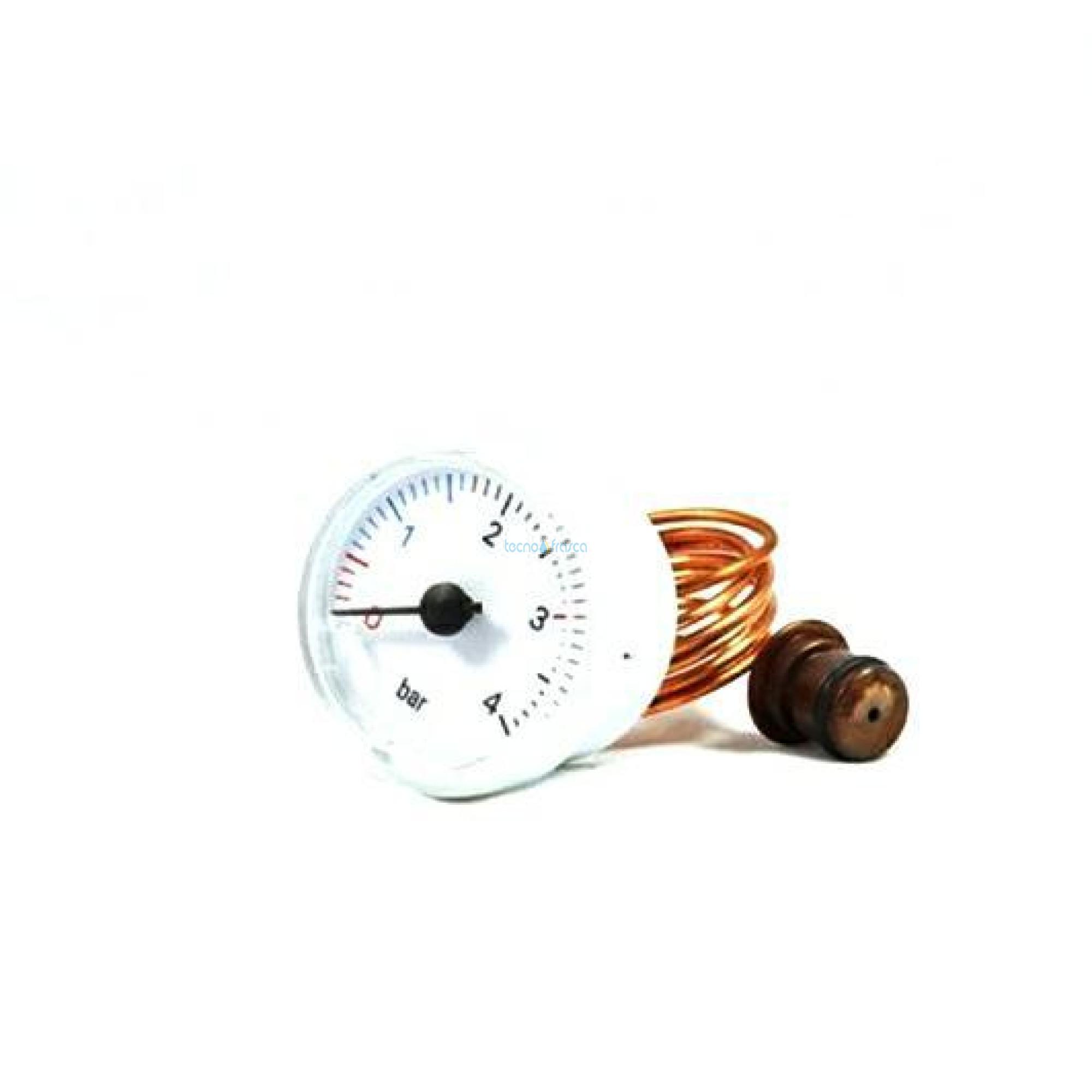 Beretta idrometro d40 0-4bar bianco r2564