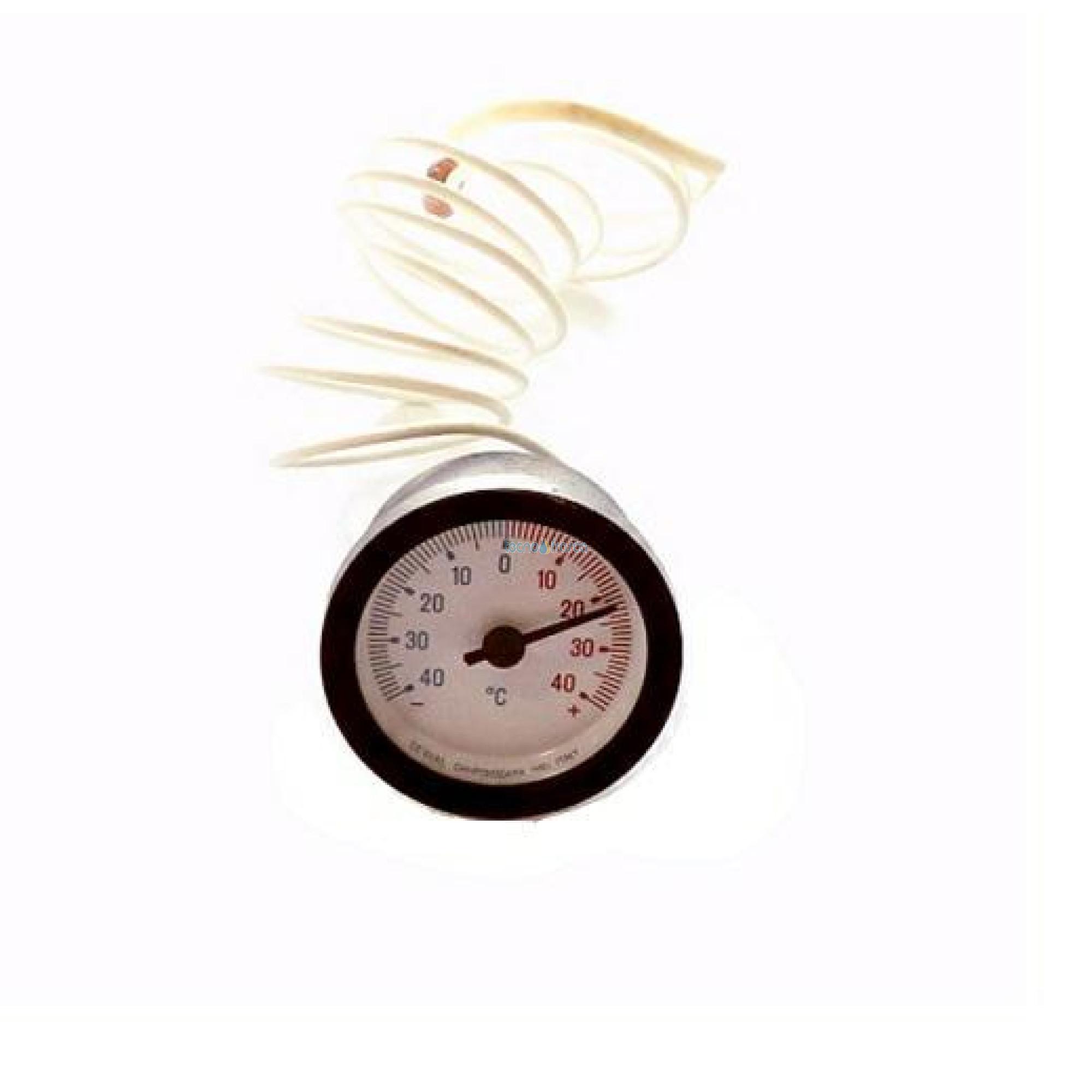 Termometro capillare d52 scala -40+40 cewal 91312219
