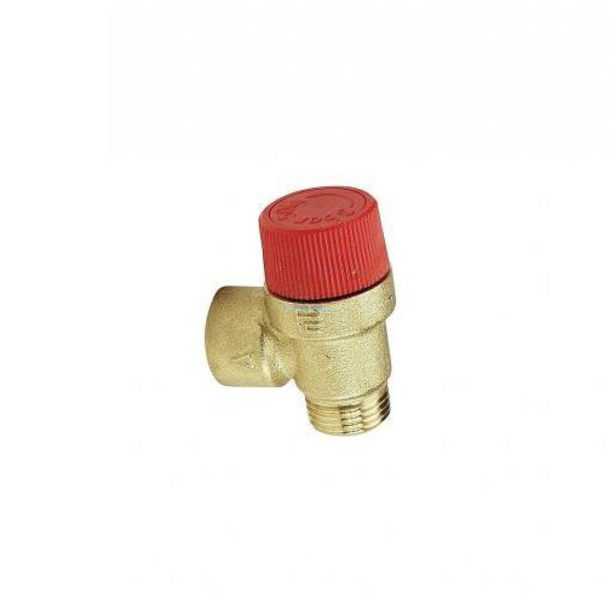 Ferroli valvola di sicurezza 1/2 m/f 3bar 39800130