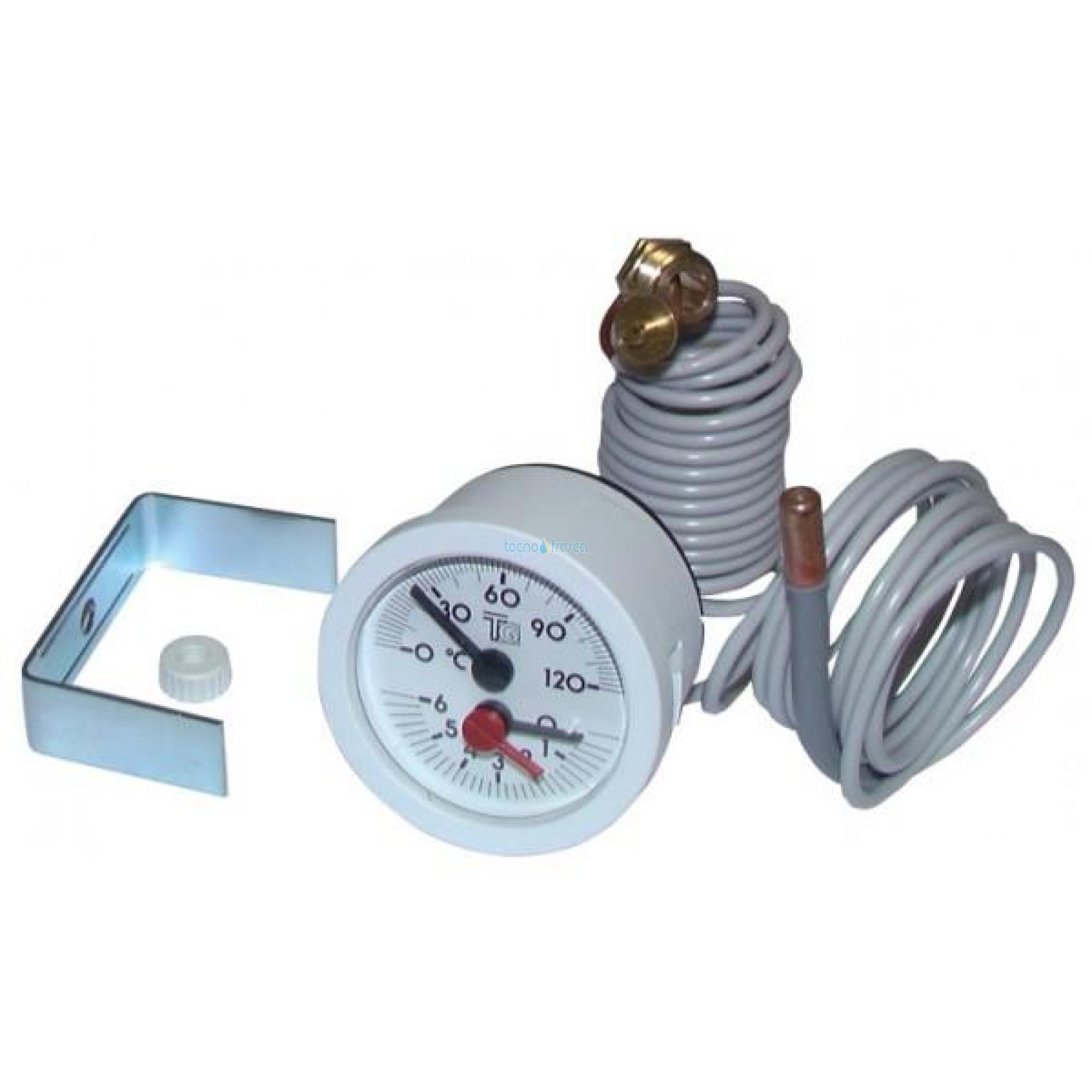 Ferroli termoidrometro 0-6 bar senza cavo 39802620