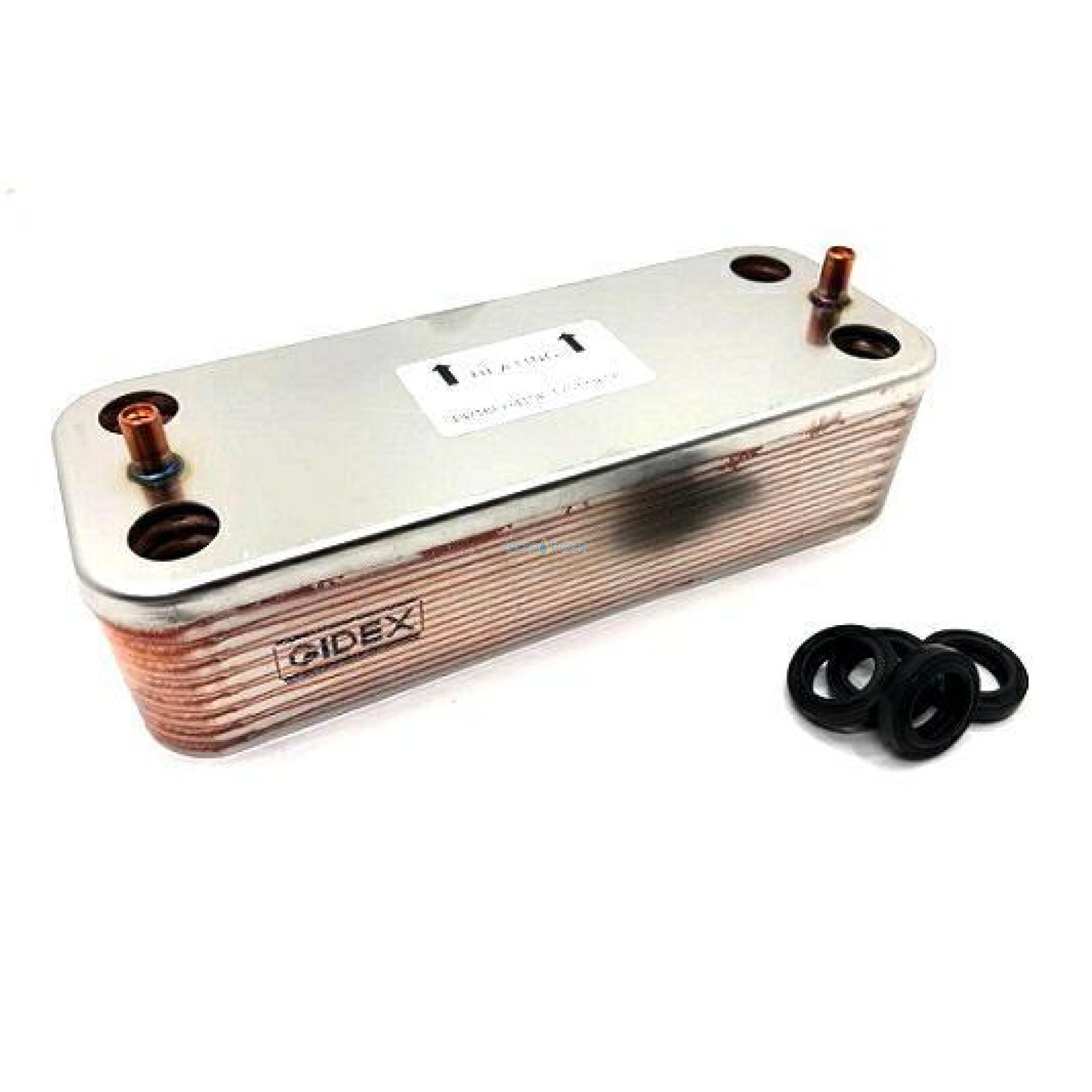 Scambiatore sanitario per Bluelix RRT Divatech D LN 3980I010