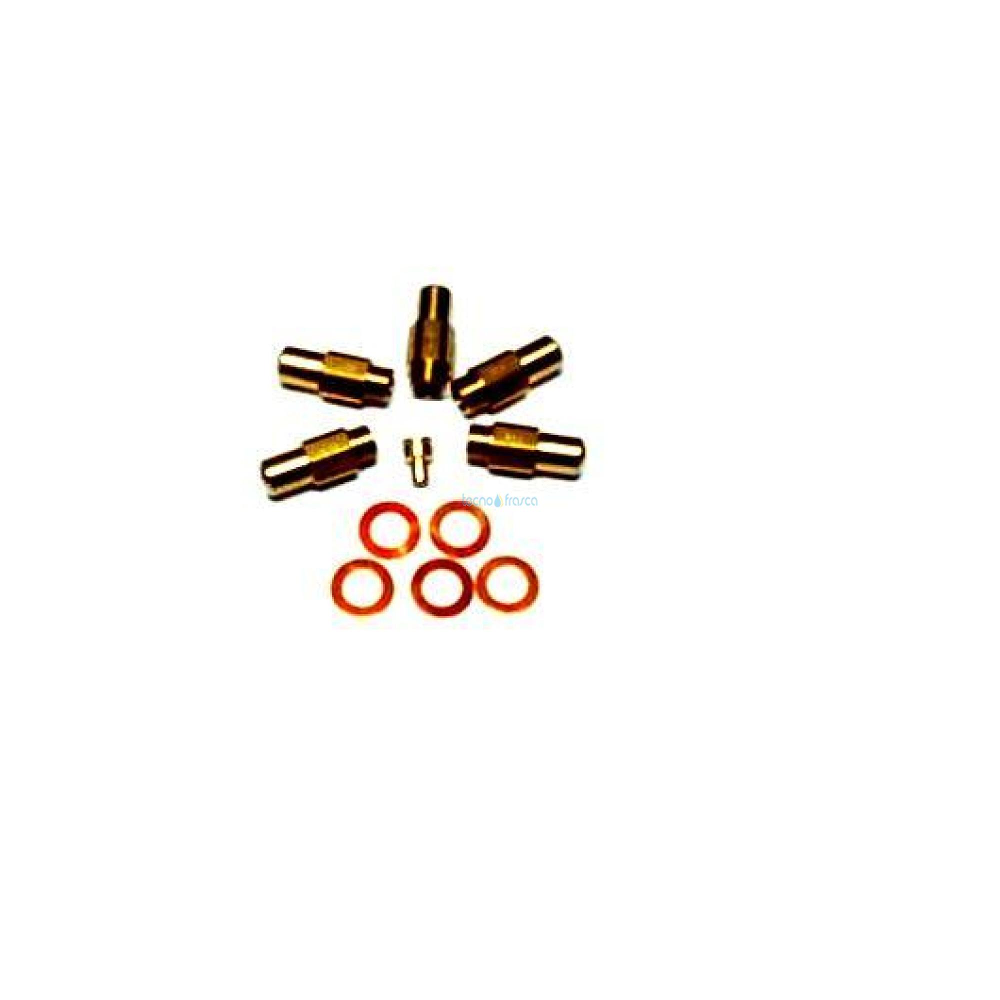 Ferroli kit 5 ugelli 3.50 39819180
