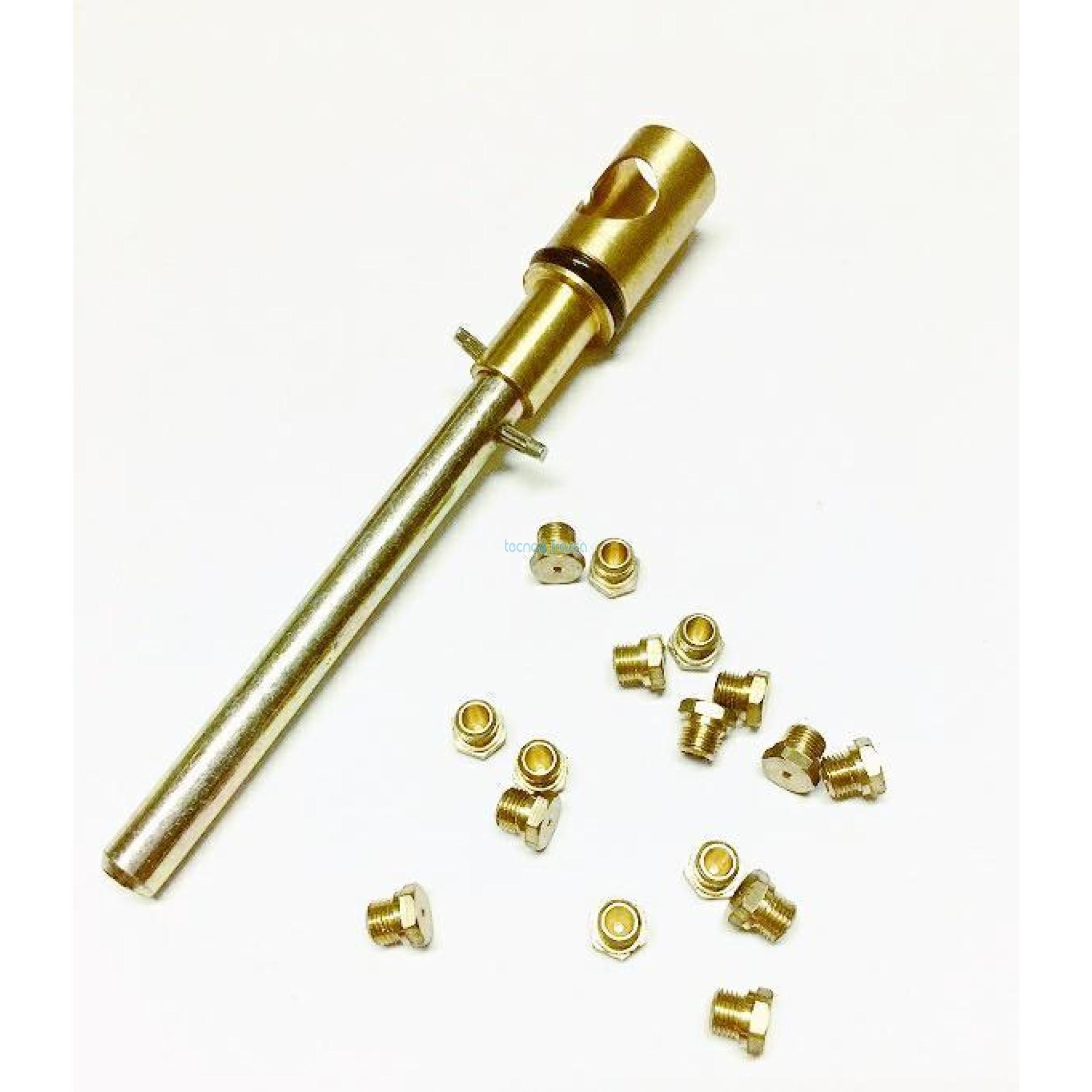 Ferroli 16 ugelli 1,02 regolatore zefiro c14 metano 398c1570