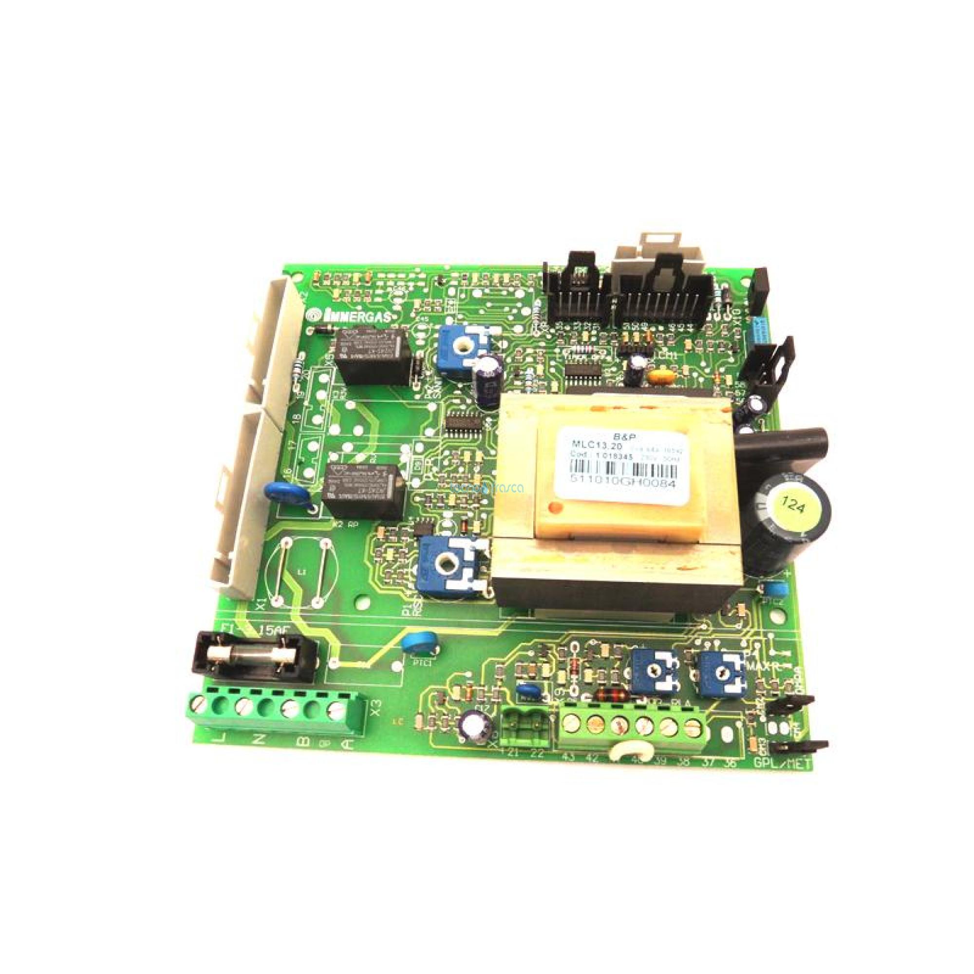 Immergas scheda di modulazione b&p nike superior extra1.018345