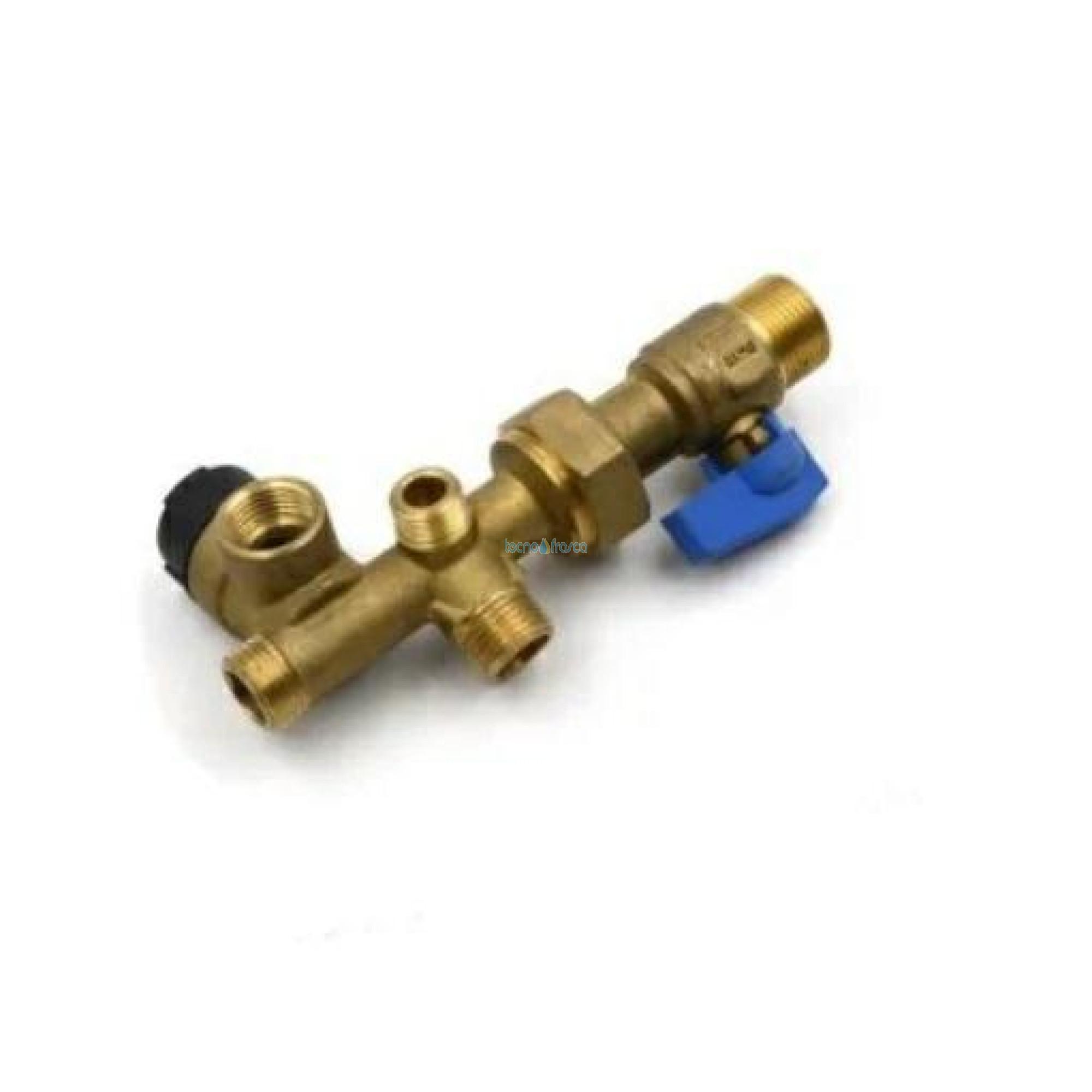 Immergas rubinetto collettore entrata fredda hercules 3.019092