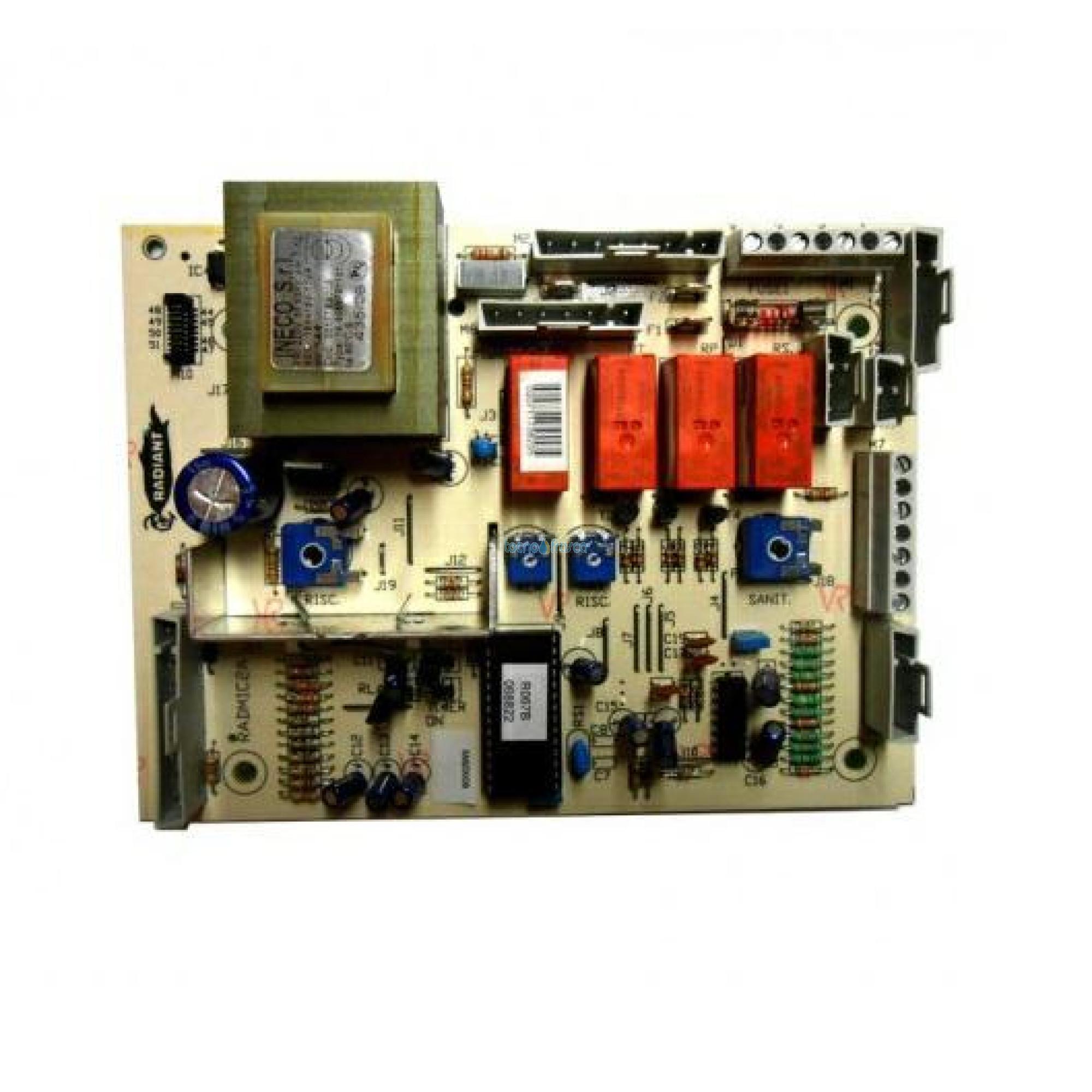 Radiant scheda di modulazione radmic2 sm20006 76610la