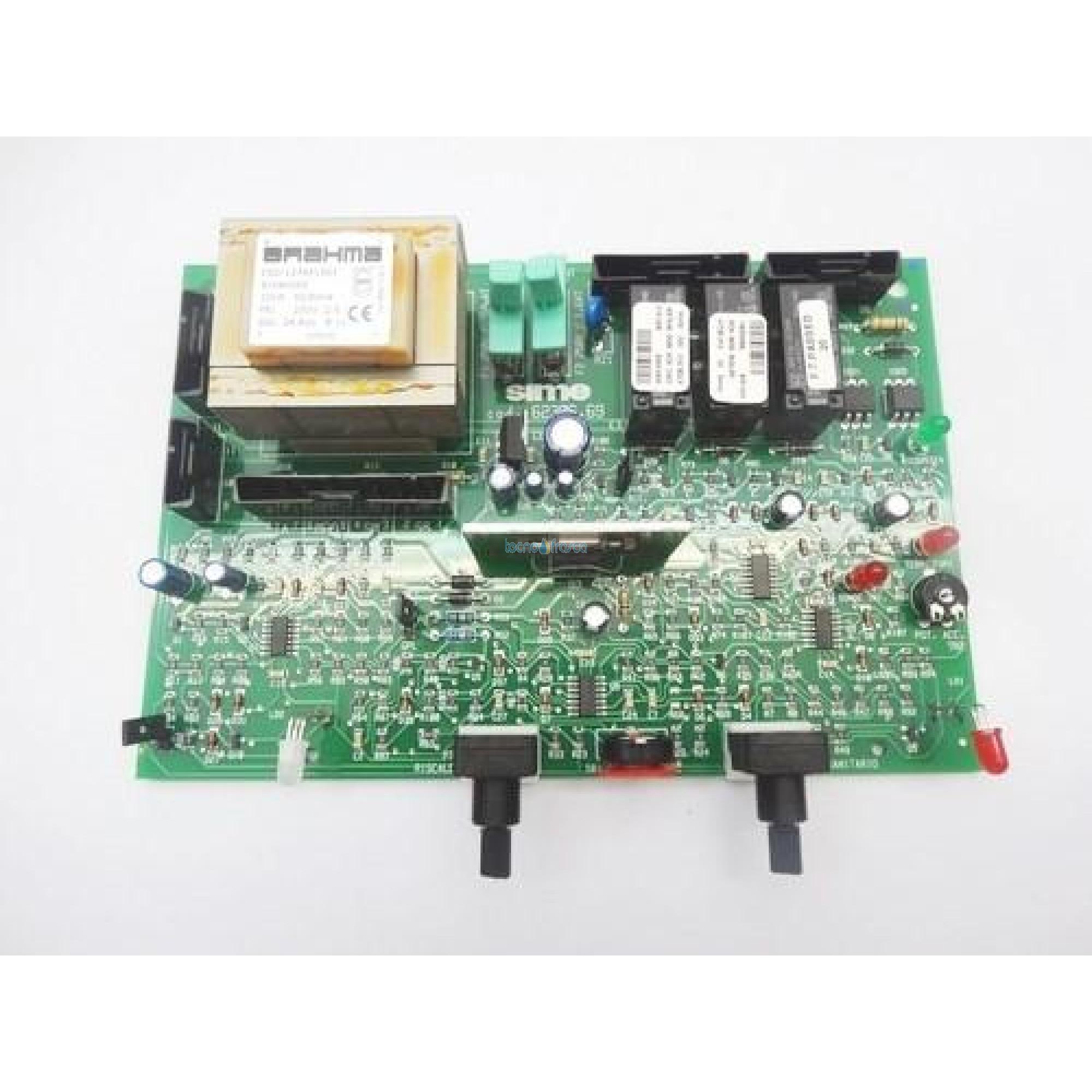 Sime scheda elettronica 24v m.lux bn murella 6230669