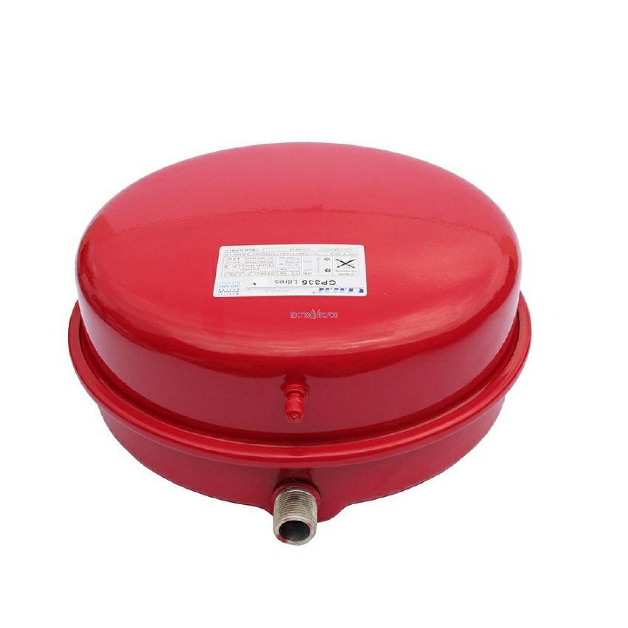 Vaso di espansione cimm circolare litri 8 d335 3/4 maschio