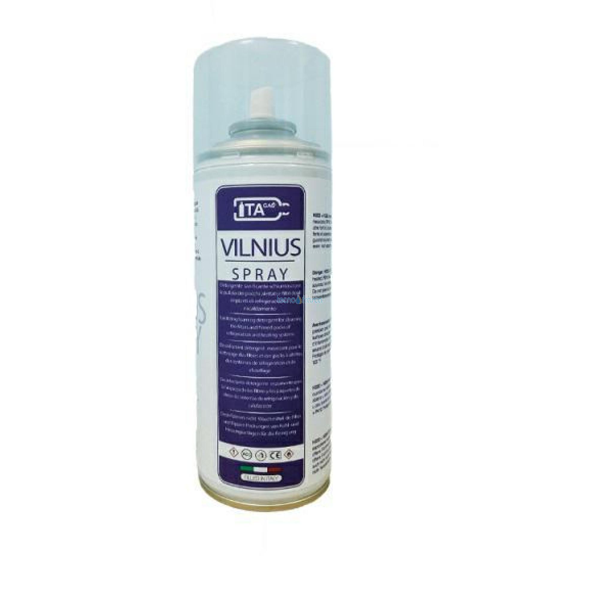 Detergente spray schiumoso vilnius 400ml vl80201