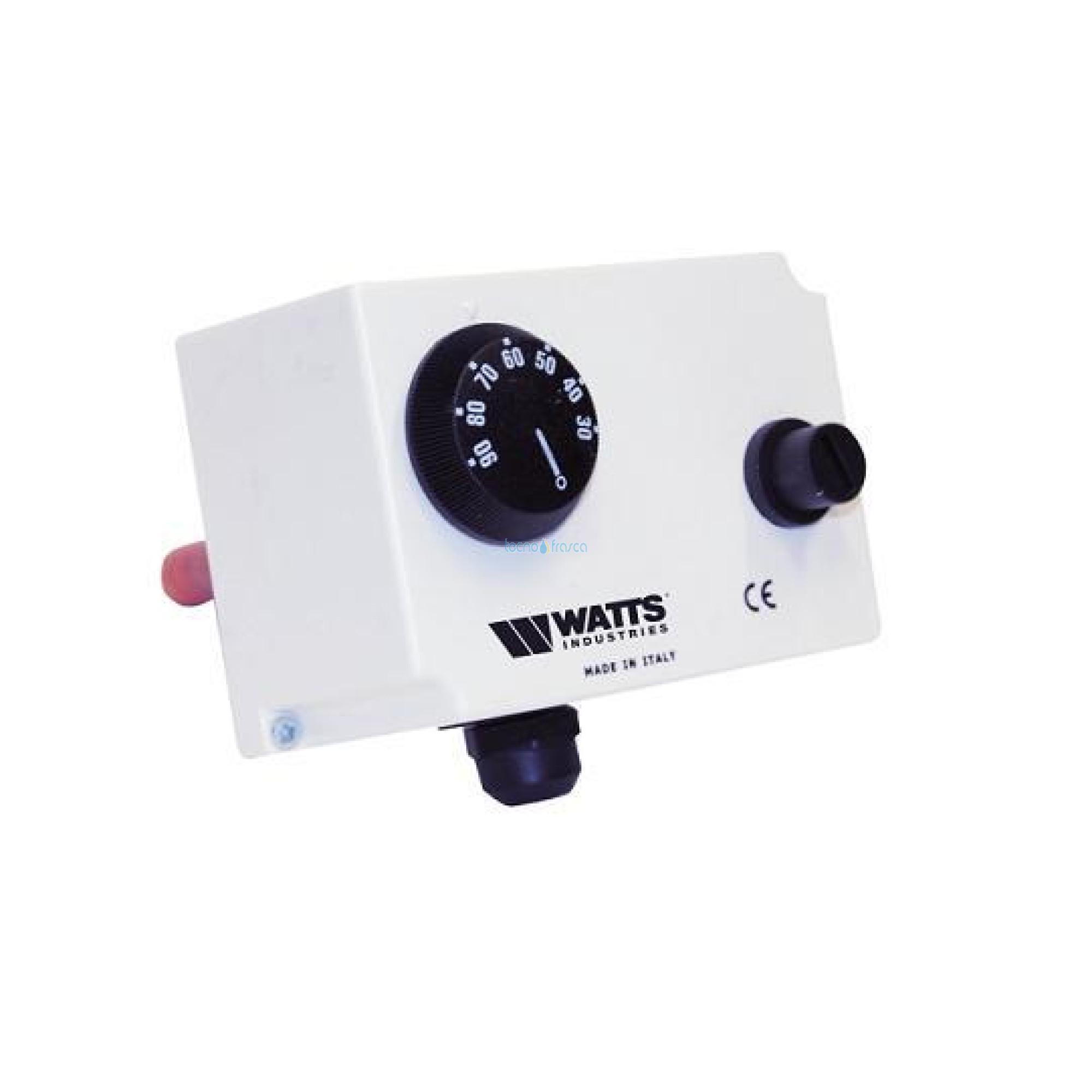 Watts bitermostato ad immersione regolazione/blocco tre/tu 0405301tu