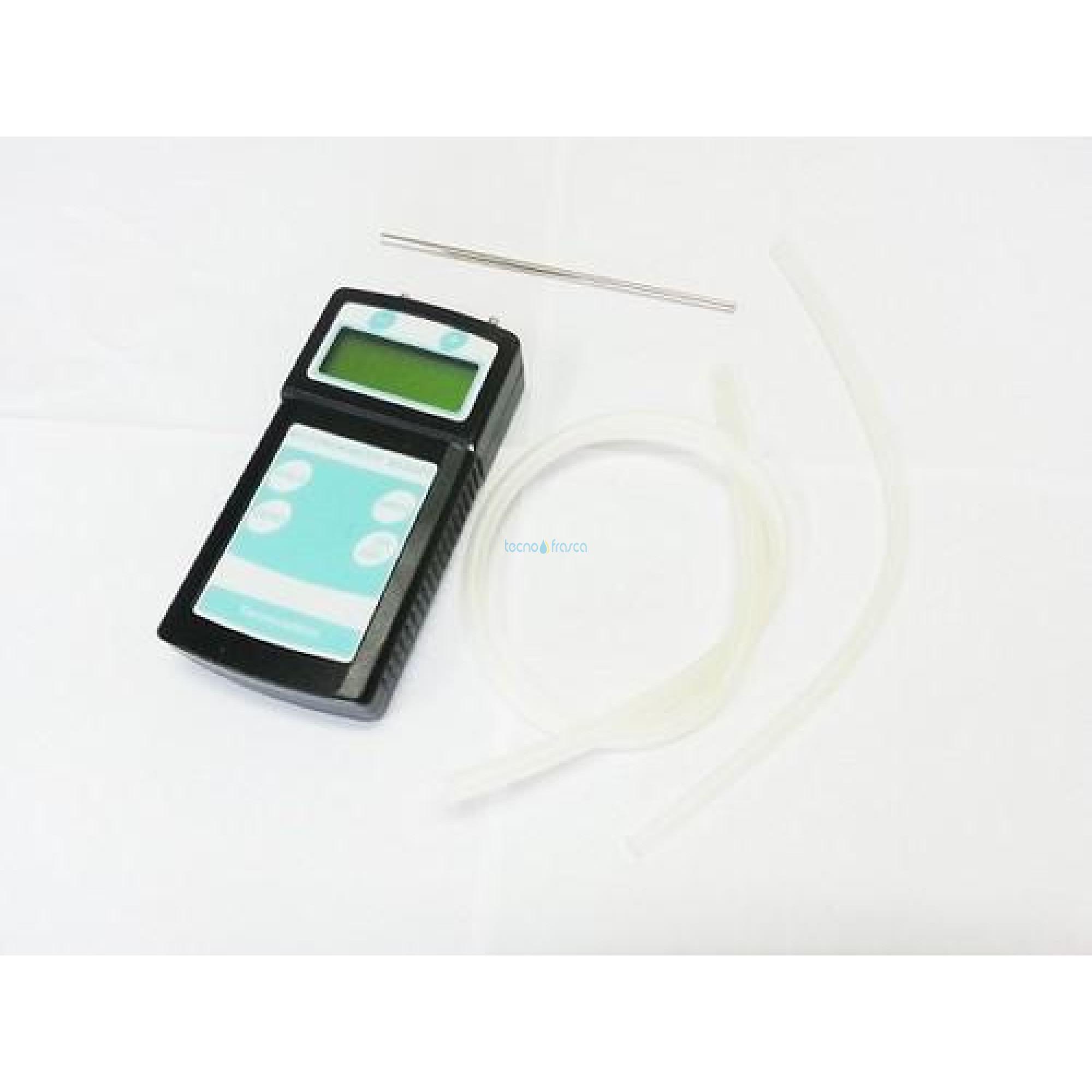 Micromanometro differenziale ma202dg automatico range 1000mm h2o