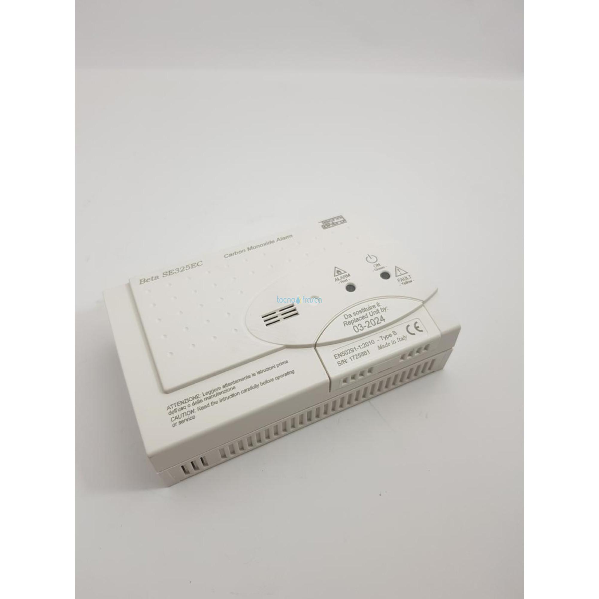 Rilevatore co batteria se325ec