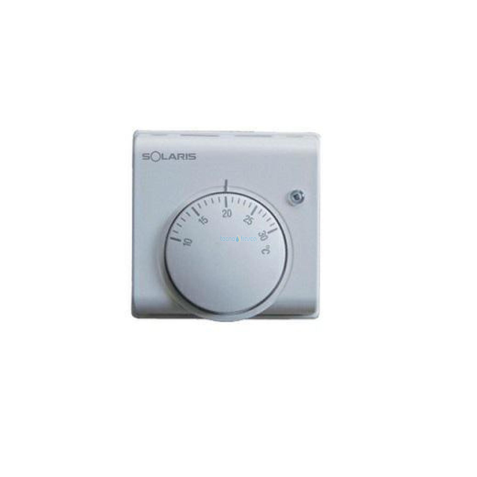 Termostato elettronico a parete per imp.di condiz.e riscald. ter1
