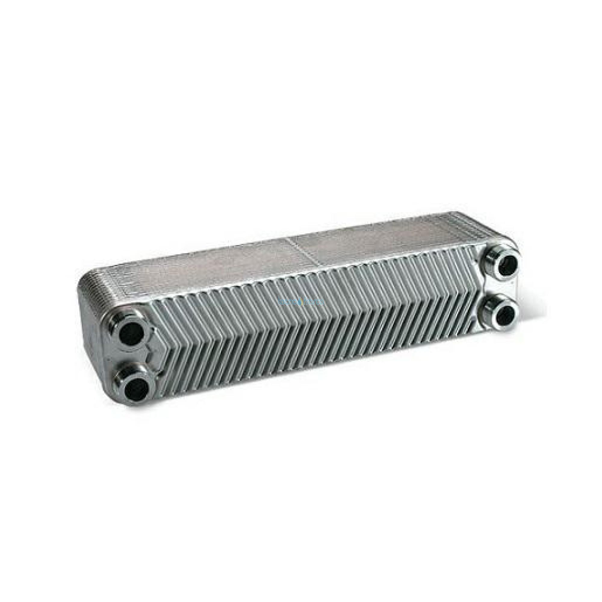 Scambiatore 3/4 30 piastre flusso incrociato termocamino 65kw