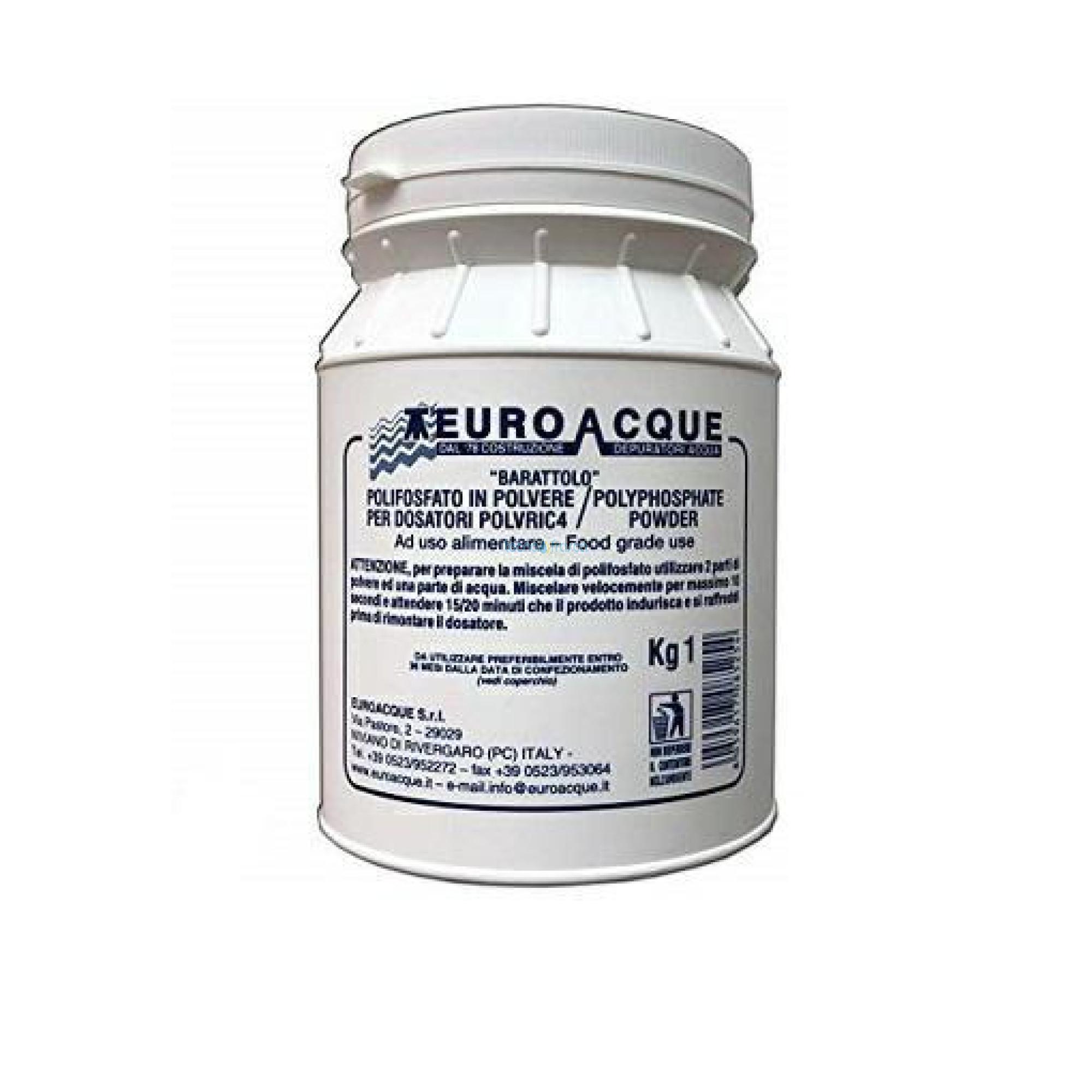 Polvere di ricambio dosatori 1kg polvric4