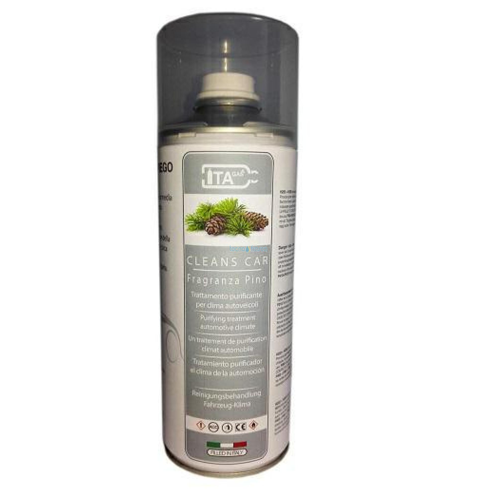 Deodorante cleaner pino igienizzante per climatizzatori e auto 400ml