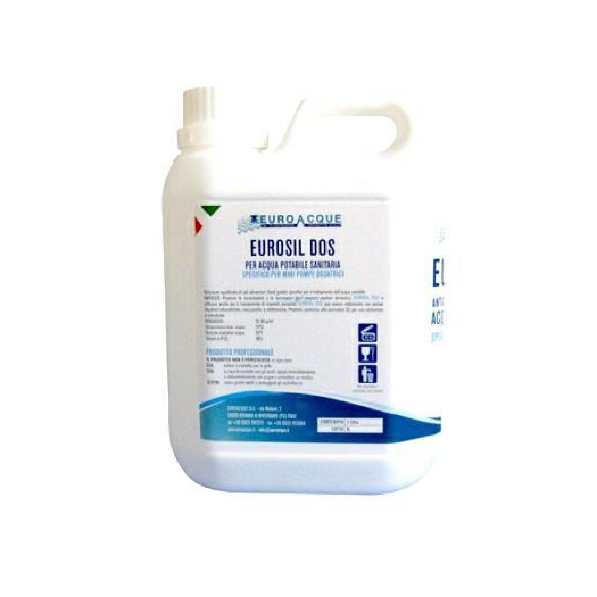 Ricarica Anticalcare Liquido Eurosil 18/1 1kg esil1801