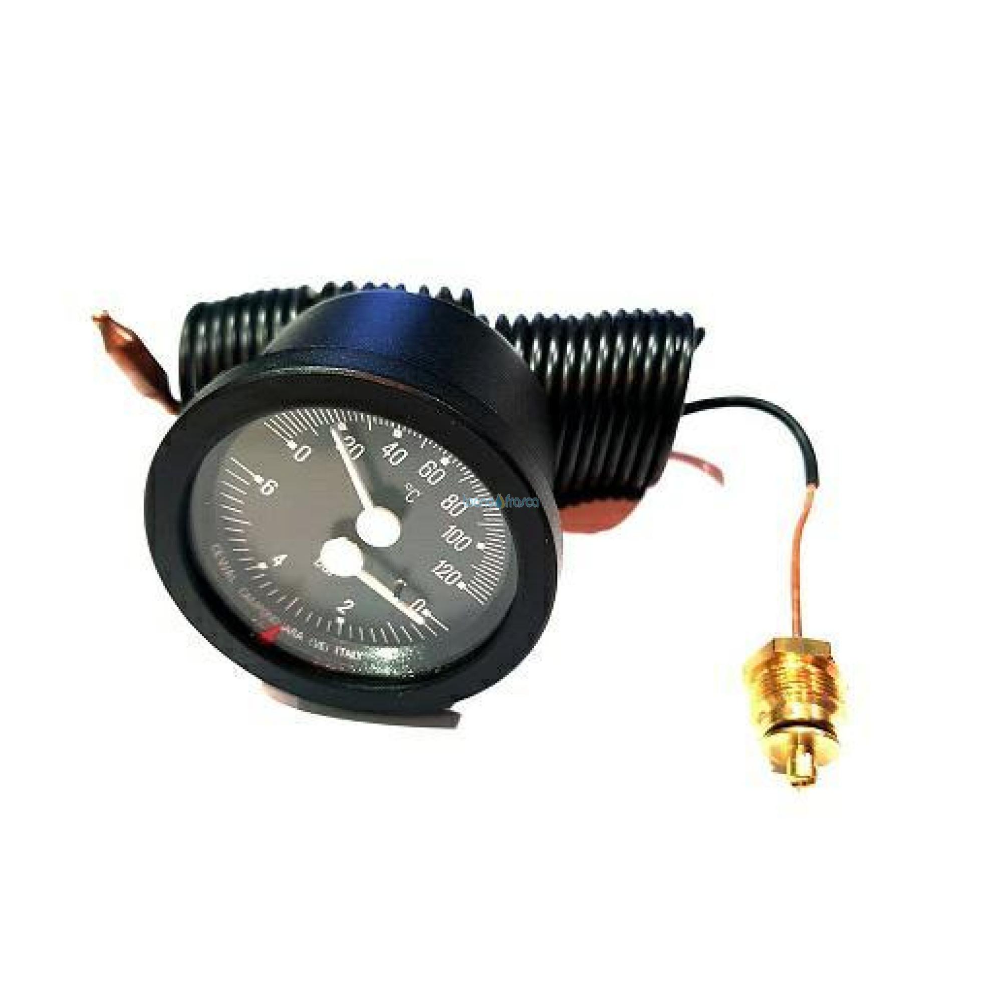Termomanometro incasso d52 c/cap 1,5mt uen111157