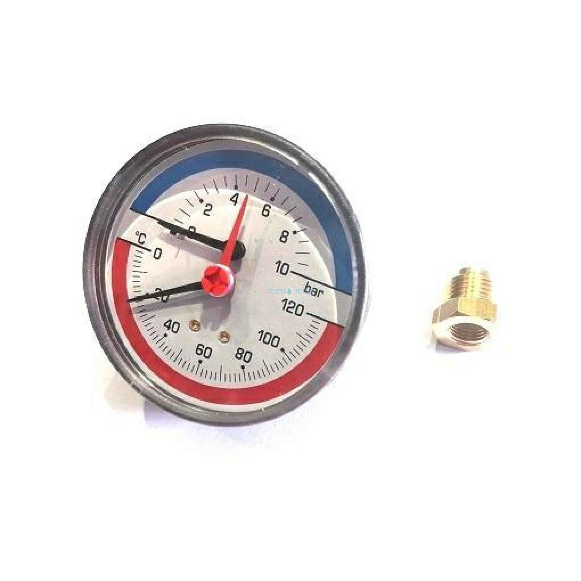 Termomanometro post.d80 10bar c/cap.1,5mt uen110530/10