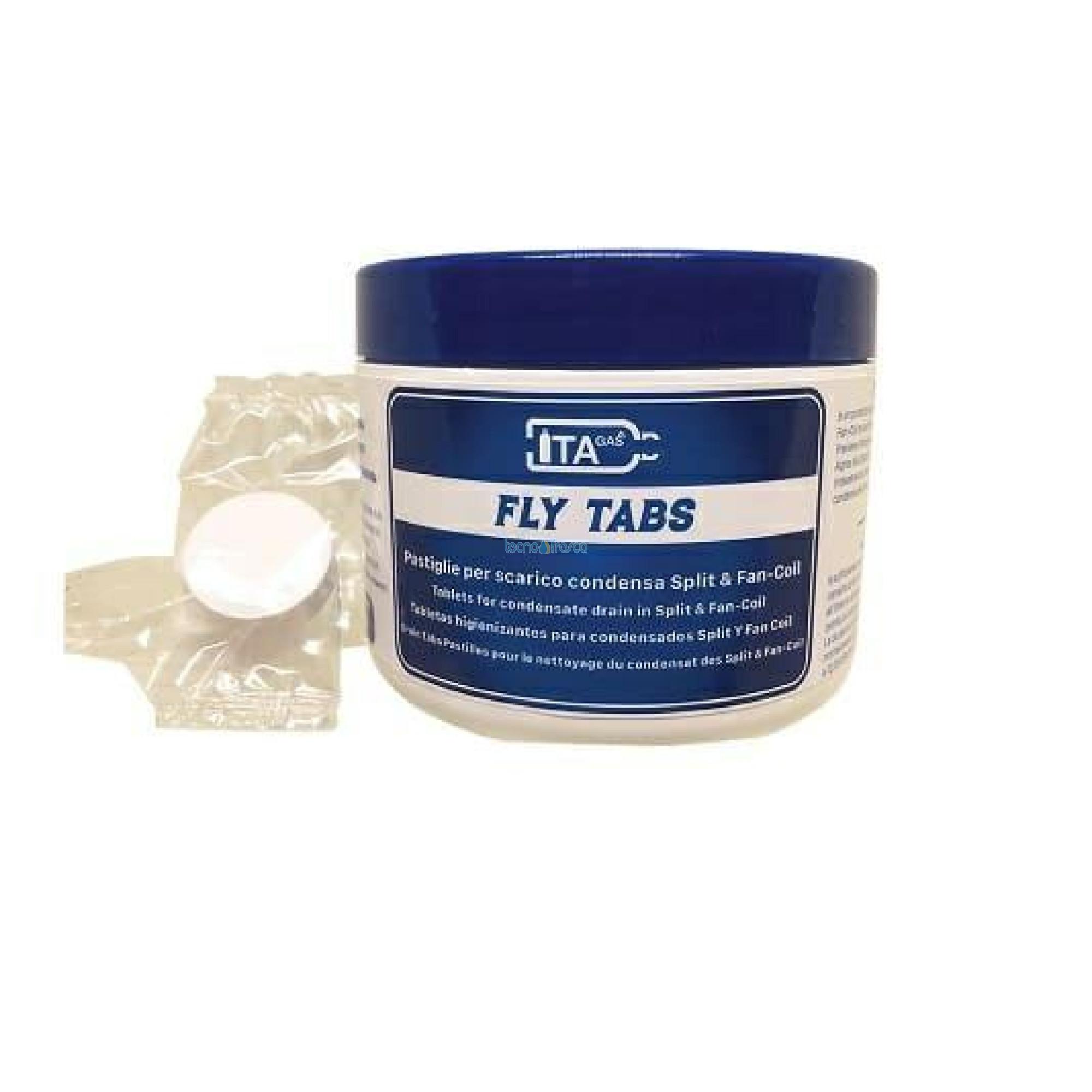 Pastiglie per scarico condensa split e fancoil fly tabs 20 pezzi
