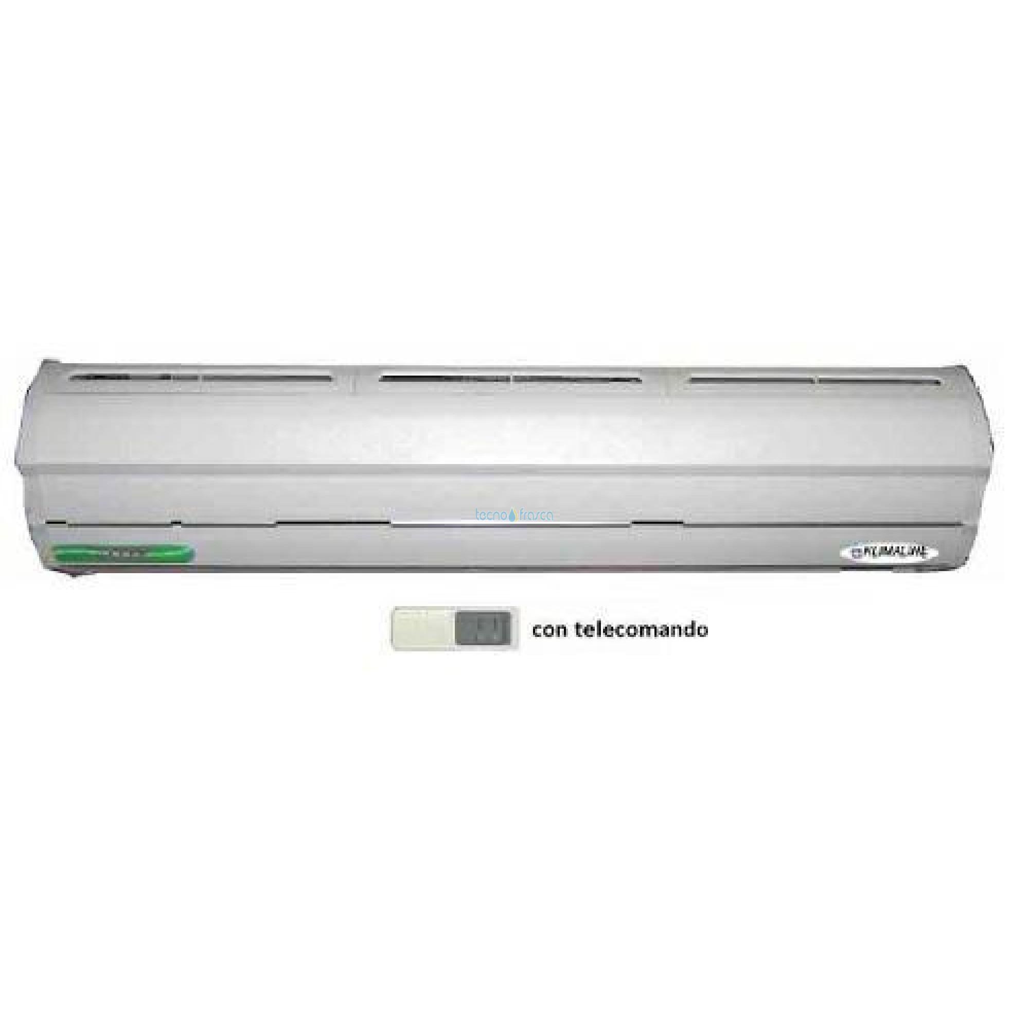 Barriera aria s/resistenza deluxe line con telecomand0 cm 90