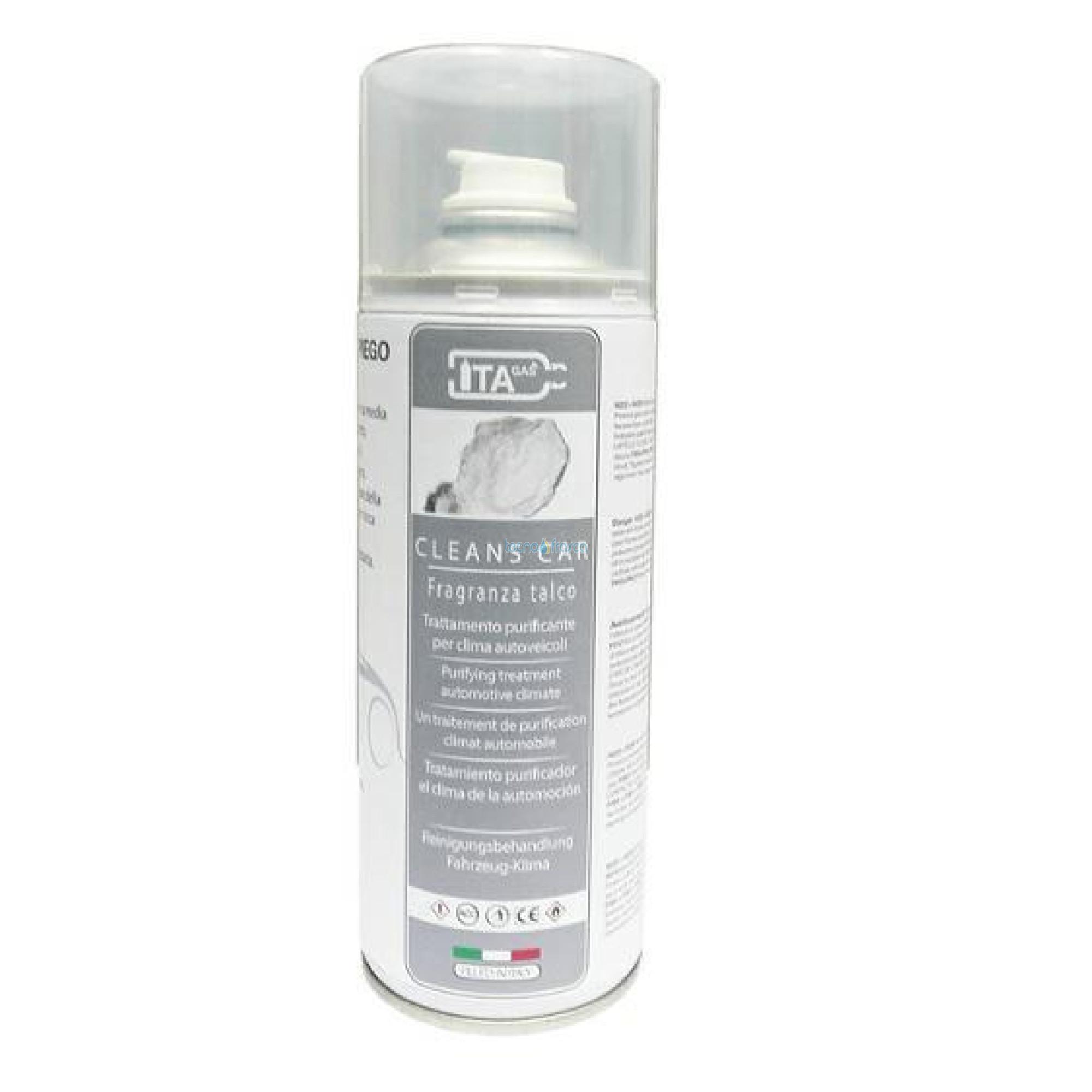 Deodorante cleaner talco sanificante climatizzatori e auto 400ml